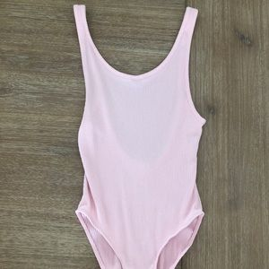 Urban Outfitters Pink Bodysuit